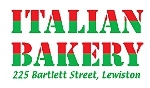 Italian bakery lewiston maine logo