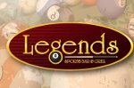 Legends sports bar and Grill restaurant auburn maine logo