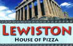 Lewiston House of Pizza Lewiston Maine logo