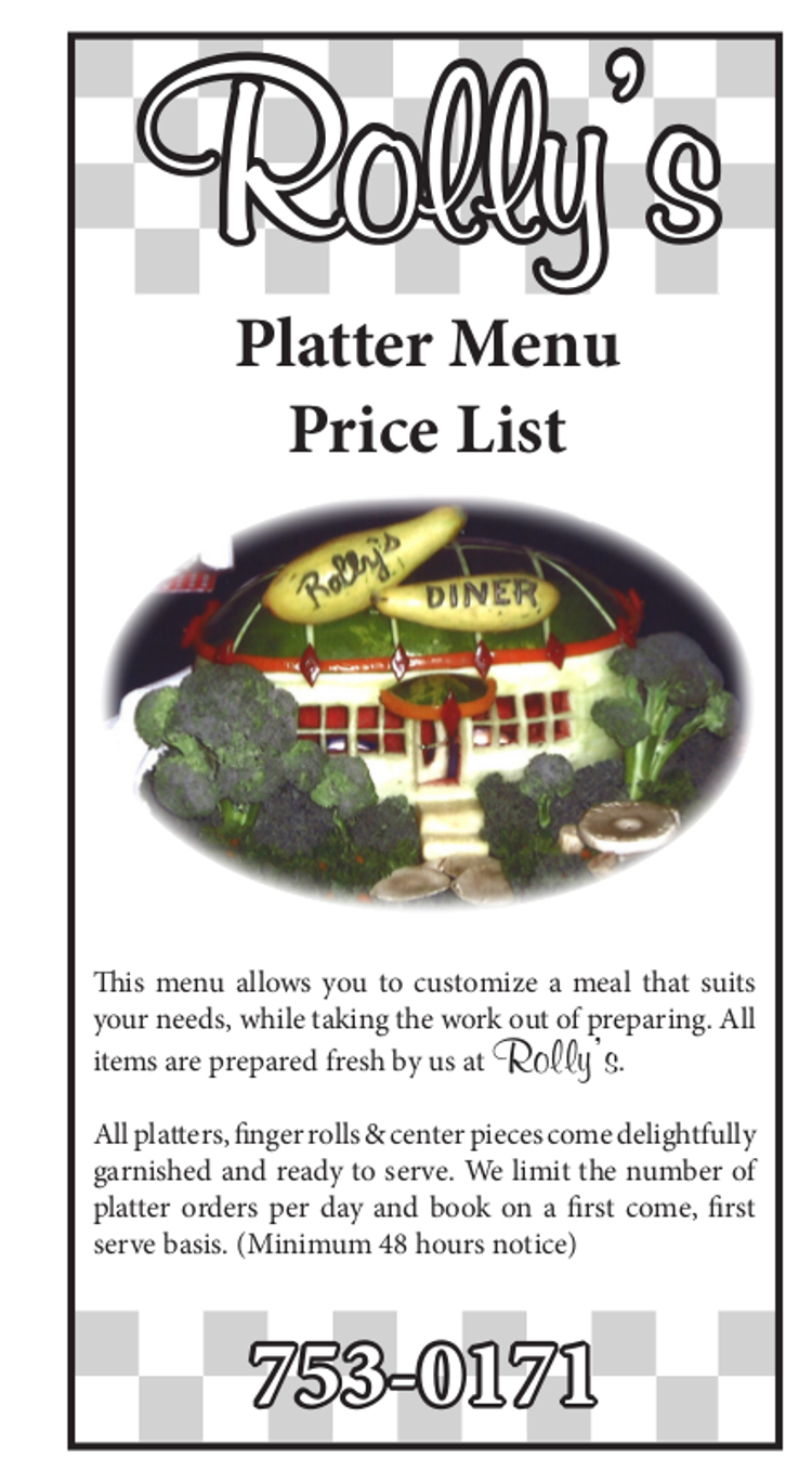 rollys catering description
