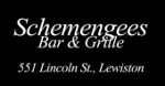 schemengees lewiston maine logo