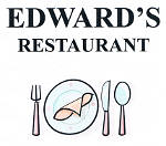 edwards restaurant lewiston  maine logo