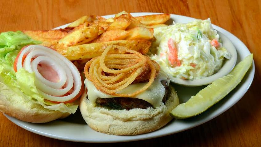 gippers burger- gretsky