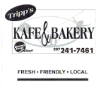 tripps kafe and bakery auburn maine logo