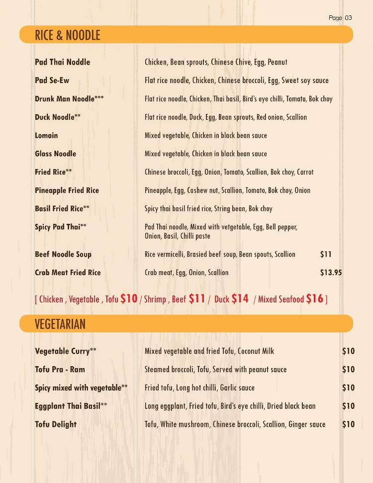 Pure Thai Kitchen Lewiston Auburn Maine Restaurants