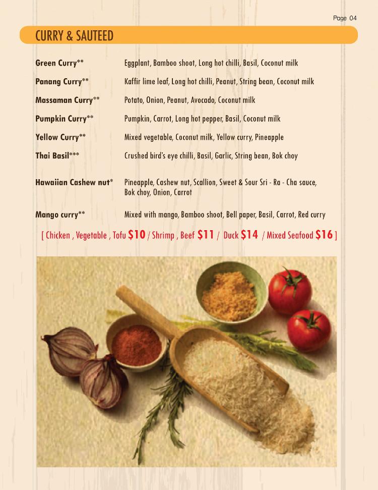 Thai Food Lewiston Maine